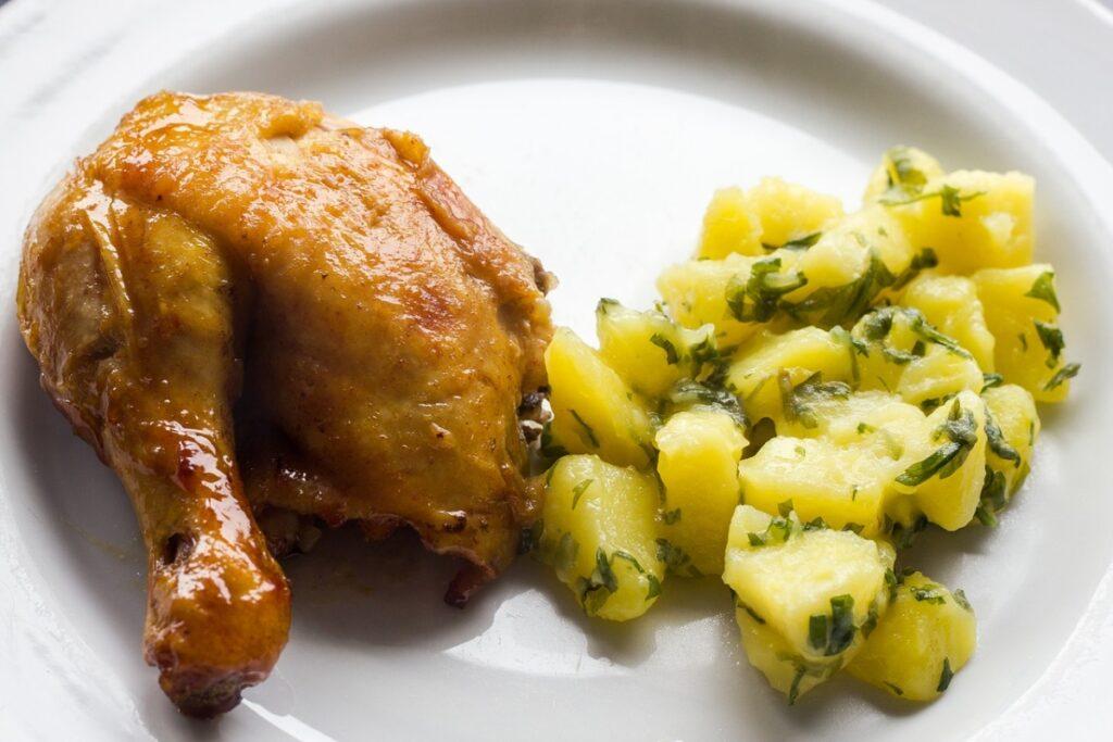 Ile piec udka z kurczaka?