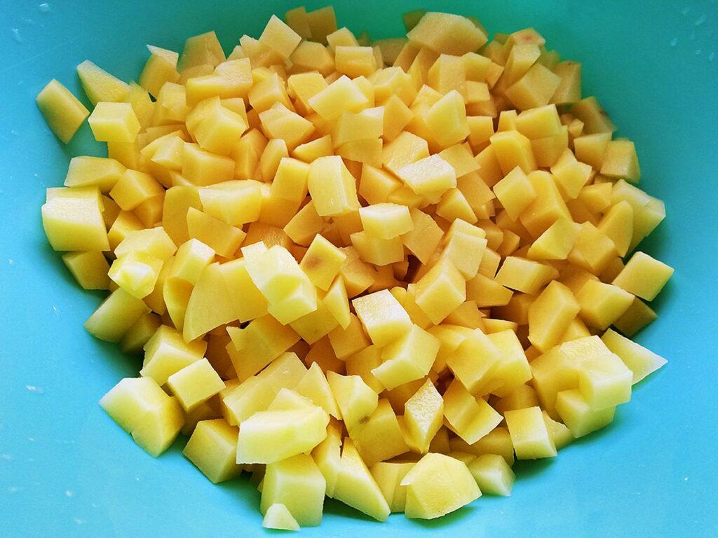 Przepis na grochówkę ziemniaki