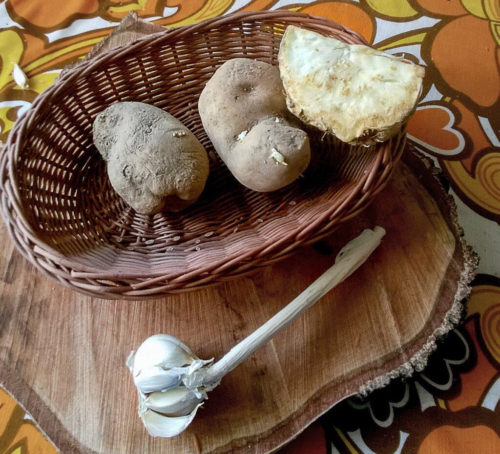 Przepis na kartoflankę z grzybami ziemniaki