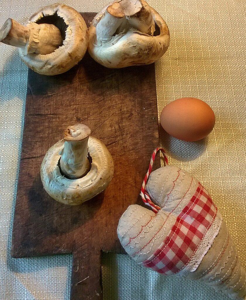 Przepis na krokiety z kapustą kiszoną i pieczarkami składniki
