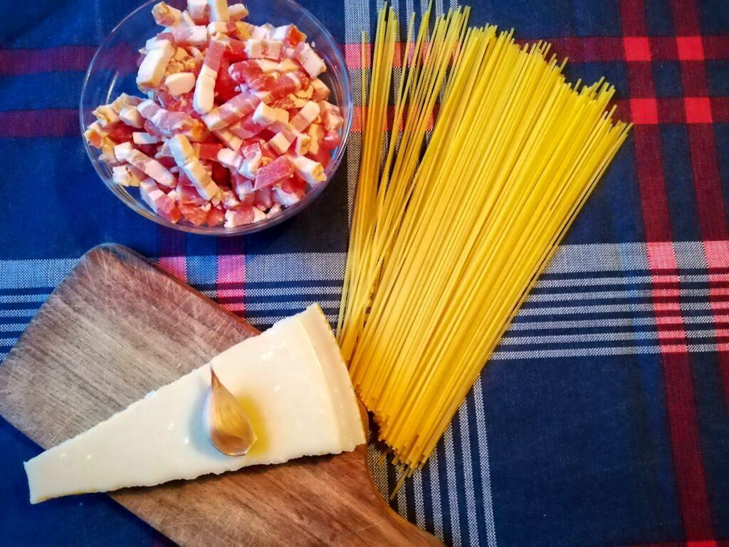 Przepis na spaghetti carbonara najważniejsze składniki