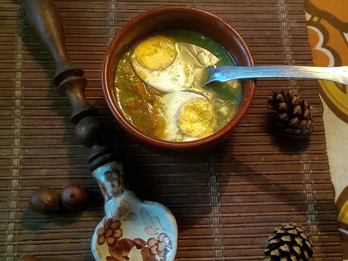 Przepis na zupę szczawiową